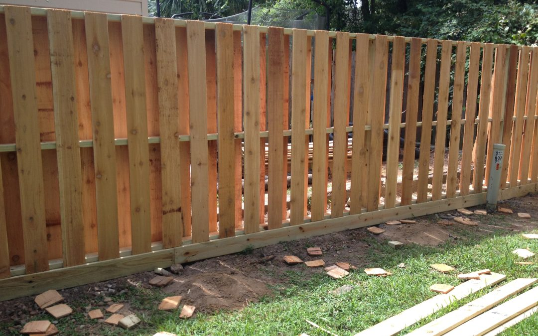 Cedar Fencing and Why We Love It