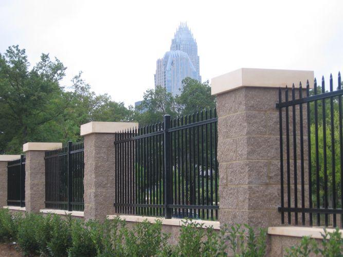 Wrought iron fence panels company
